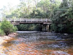 Taylor's Flats Bridge on the Leven River.