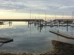 Port Vincent Marina,  Start of a Good Day