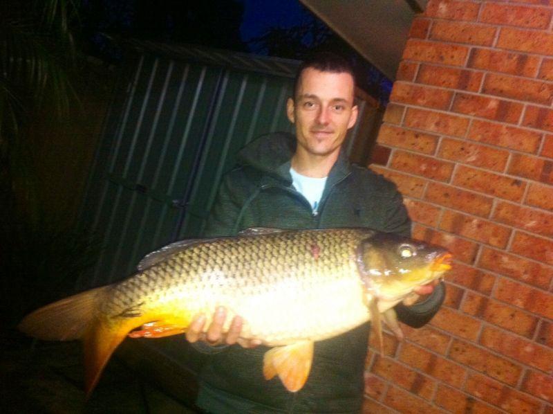 Biggest unweighted carp on 4lb leader / braid