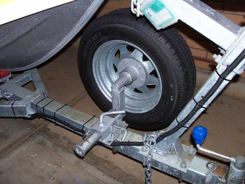 how to use a break back boat trailer