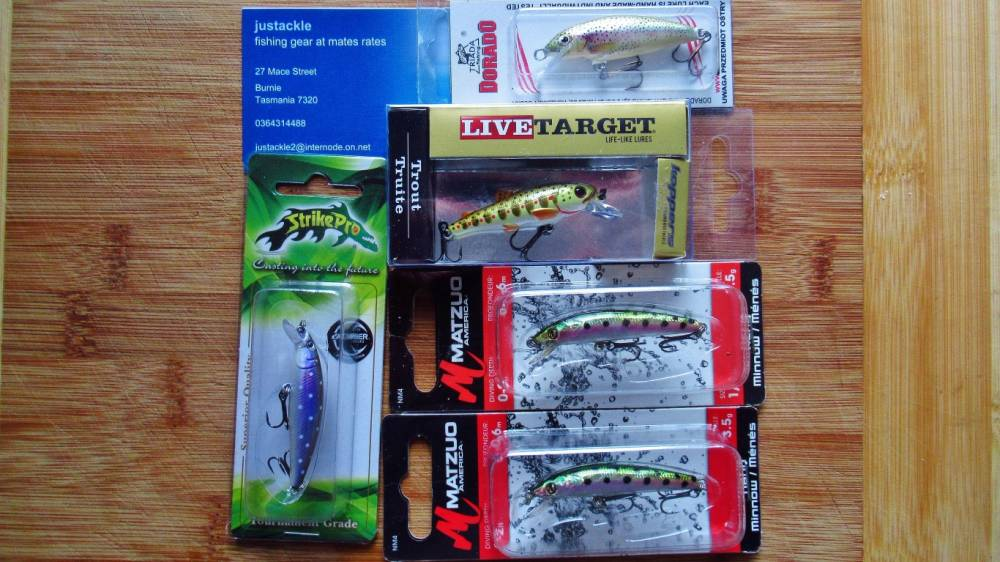 8-Mixed hard body lures. Justackle, Burnie. (Medium).JPG